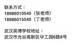 武汉英博学校艺术生文化课辅导课程设置
